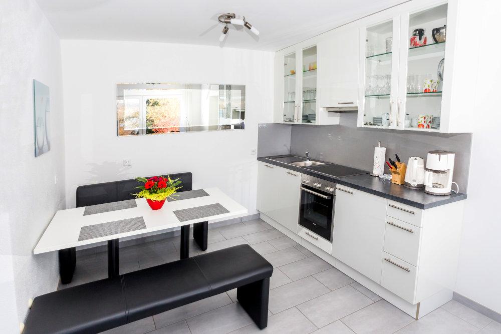 Haus Seegarten Reichenau - Wohnung Gnadesnee - Küche