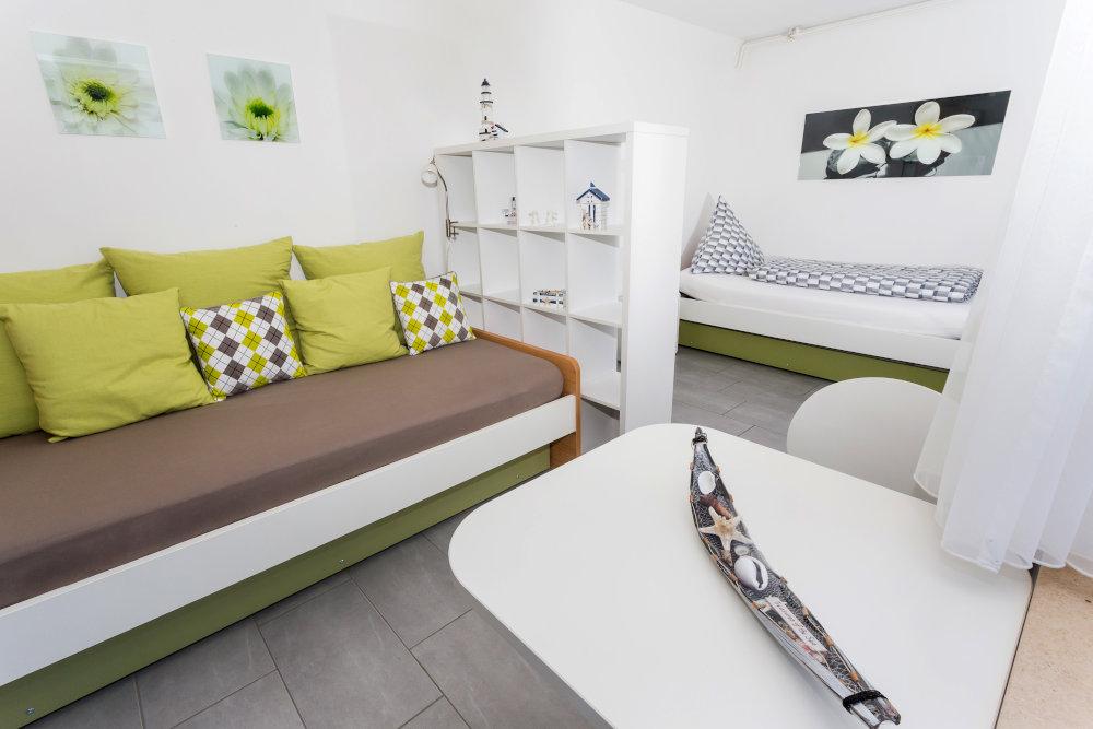 Haus Seegarten Reichenau - Wohnung Gnadesnee - Schlafzimmer
