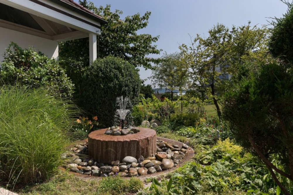 Haus Seegarten Reichenau - Garten - Springbrunnen