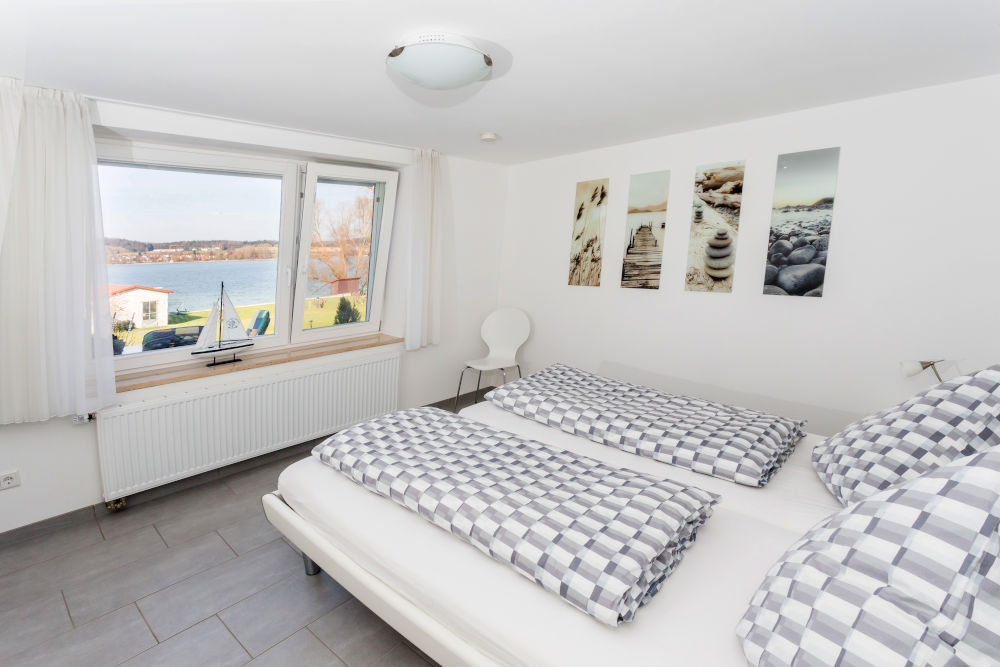 Haus Seegarten Reichenau - Wohnung Süd - Schlafzimmer